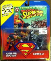 Hunter-Prey Superman vs Doomsday
