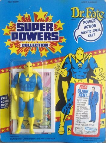 Doctor Fate Super Powers FIgure