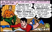 Aquaman gives Aqualad permission to join TT