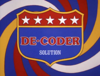 De-Coder Solution (02x1c - Invasion of the Earthors)