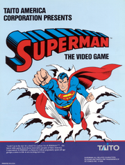 Superman arcade game