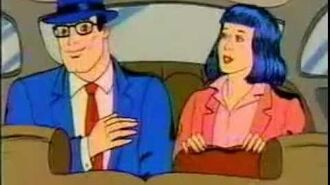 Clark Kent and Lois Lane AT&T Ad