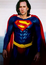 Superman Nicolas Cage (Superman Lives, Unaired)
