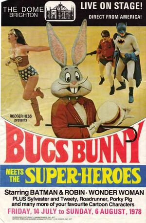 Bugs Bunny Meets the Super-Heroes