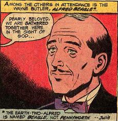 Alfred Beagle (Superman Family 211)