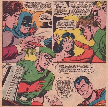 Angry with the Team (Justice League of America 66) 2