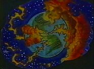 Apokolips-like Earth