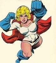 Power Girl big titties