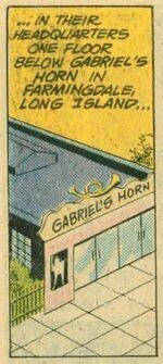 Gabriel's Horn (TeenTitans, 50) 1