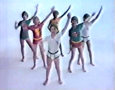 Children dancing in their underoos