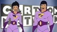 Cartoon Network - Opinions and Editorials with The Wonder Twins 60sec promo (1998)