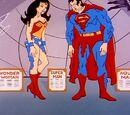 Justice League of America wax figures