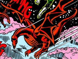 Vaxonian Dragon (JLA, 147)