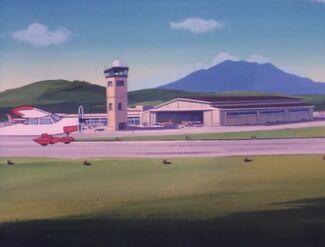 Metropolis Municipal Airport (02x1b - Joy Ride)