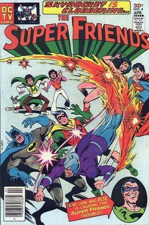 Super-friends 4 (cover)