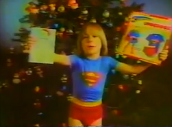 Superman boy christmas