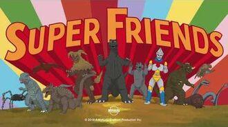 MyKaiju Godzilla Super Friends