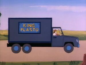 King Plastos Truck (01x10 - The Fantastic FRERPs)