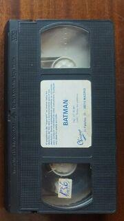 Batman Contra Los Hombres De Estrella Negra (video cassette)