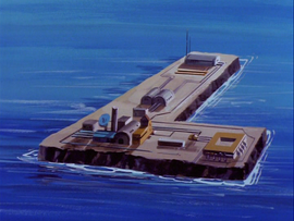 L Island, Lex Luthors Floating Fortress