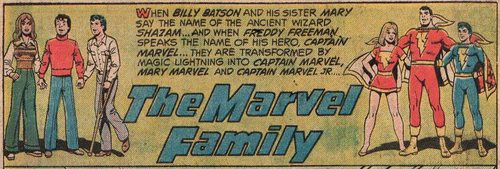 Marvel Family (SHazam 20)