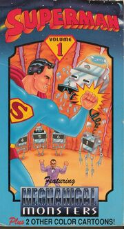 Superman Volume 1 Featuring Mechanical Monsters