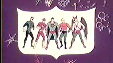 The superman aquaman hour of adventure-intro