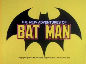 New Adventures of Batman logo 2