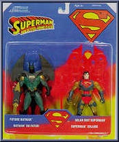Solar Suit Superman vs Future Batman