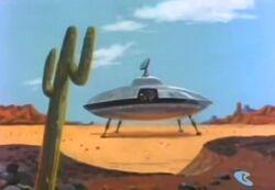 Brainiac' Ship