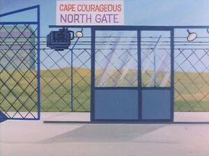 Cape Courageous North Gate (01x08 - The Androids)