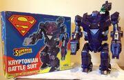 Kryptonian Battle Suit (Superman Man of Steel toy)