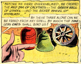 Three Mystic Artifacts, Justice League of America 10 (March 1962)