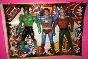 Hulk, Superman and Aquaman (Super Heroes figures)
