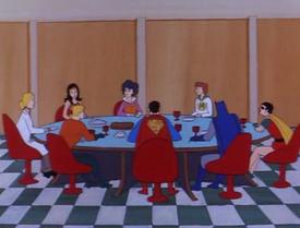 JL Meeting Room (01x05 - The Shamon 'U')