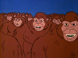 Gorilla Inhabitants