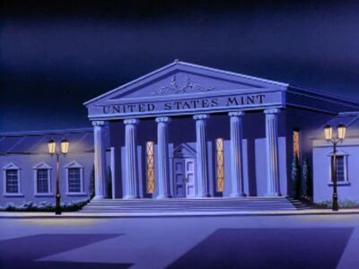 United States Mint (03x1b - Wanted The Superfriends)