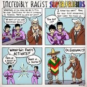 Incredibly Racist Superfriends
