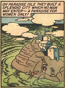 Paradise Island (Wonder Woman 1)