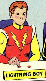 Lightning Boy (Superboy 147)