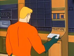 Teletype (01x13 - The Mysterious Moles)