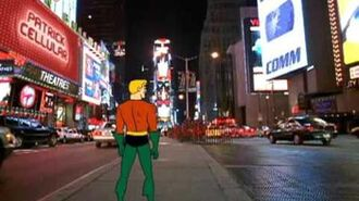 Aquaman Dance Party - Times Square