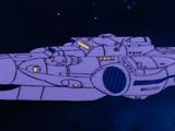 Darkseid's Personal Space-Cruiser