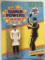 Kato (Super Powers figure) -- White guardian variant
