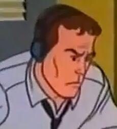 Man in the radio shack