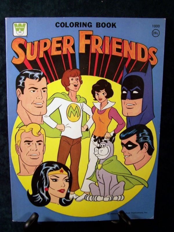 Super Friends (Whitman Coloring Book, 1975) | SuperFriends Wiki ...