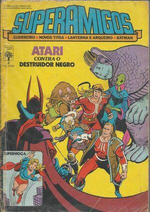 Super Amigos comics 10