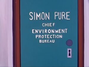 Simon Pure Door (01x09 - The Balloon People)