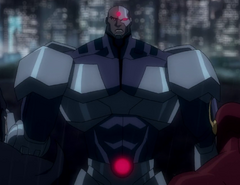 (2013) Cyborg Flashpoint Michael B. Jordan (JL - The Flashpoint Paradox)