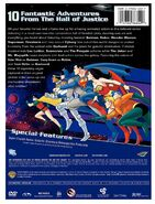 The Super Powers Team Galactic Guardians DVD back cover